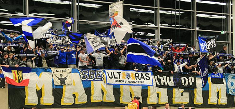 Waldhof-Fans beim MorgenMasters Finalturnier 2012
